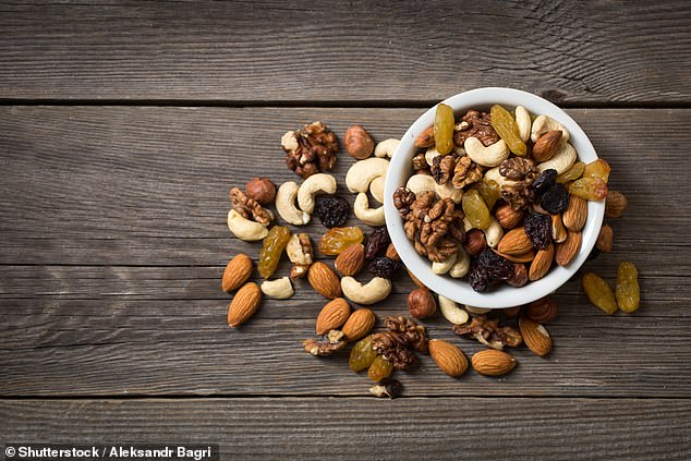 Those who eat an ounce of nuts or peanuts per day - botanically legumes when they grow underground - instead of a similar serving of meat, chips or desserts were less likely to gain weight