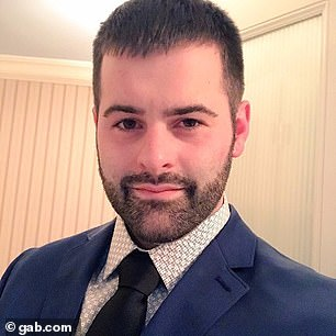 Founded in 2016 by programmer Andrew Torba (pictured), Gab.com is considered an alternative to the more controlled Twitter services