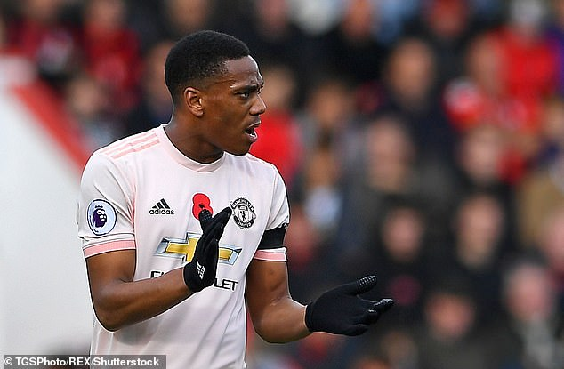 Jose Mourinho deserves the turnaround in the form of striker Anthony Martial