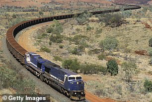 The BHP operated train had to be derailed in Western Australia after traveling 57 miles without a driver