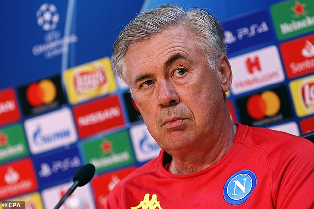 Napoli boss Carlo Ancelotti insisted he enjoy the greatest respect for PSG before the match
