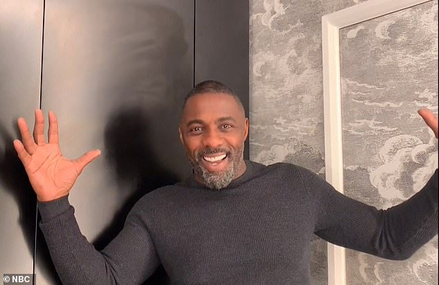 Who needs Bond? Idris Elba was seen live via satellite on the Tonight Show With Jimmy Fallon on Monday, where he was announced as People's Magazine 2018 Sexiest Man Alive