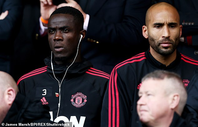 Bailly watched from the stands after he had not come to United in Bournemouth