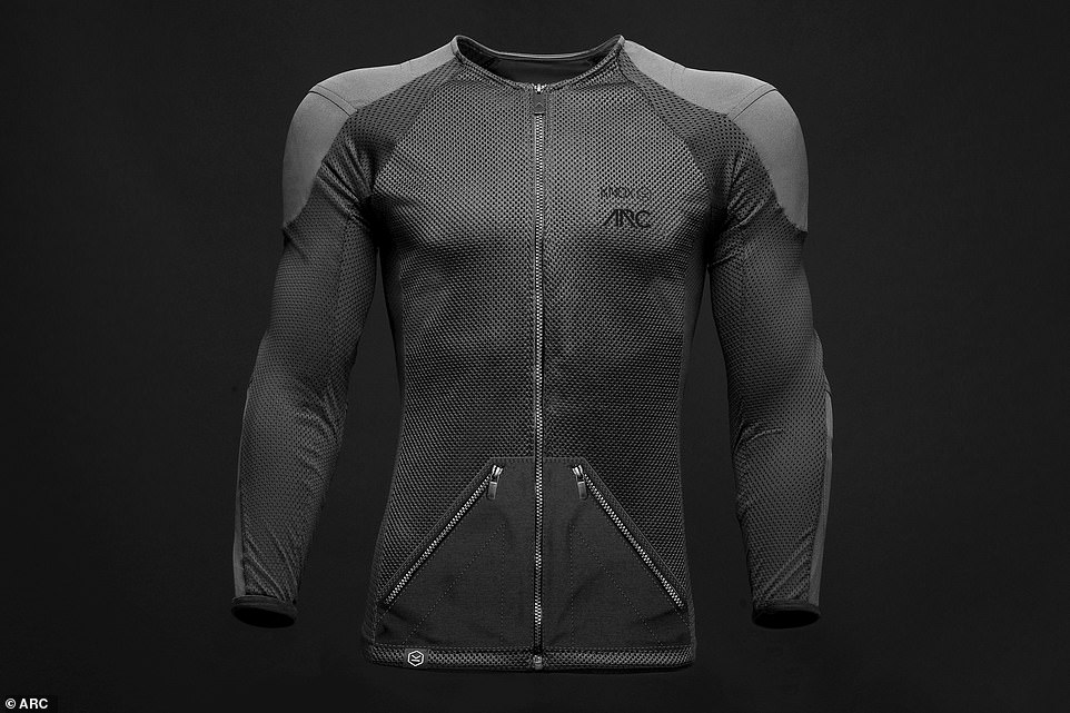 The Origin jacket vibrates to alert the driver to dangers that drive too fast