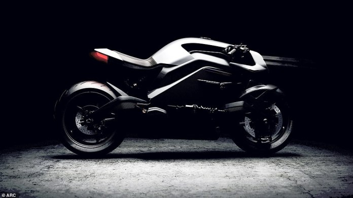 Head into the future: this is the ARC Vector - a £ 90,000 electric superbike suitable for noisy, groundbreaking and environmentally conscious millionaires