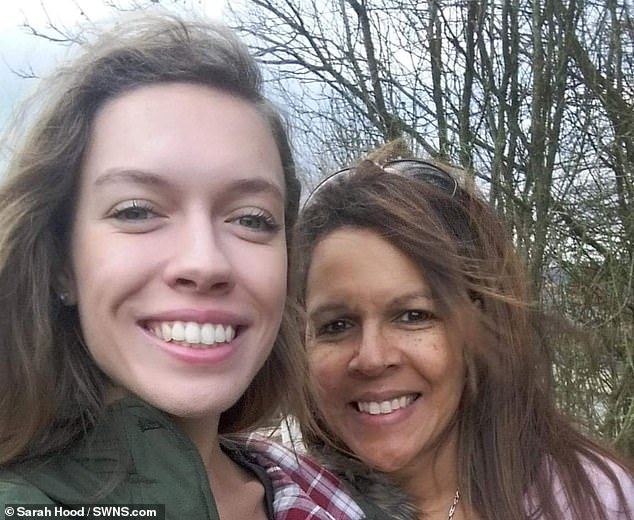 Ms Hood, pictured with her daughter Rebecca, said the ordeal has been 'horrendous' for her