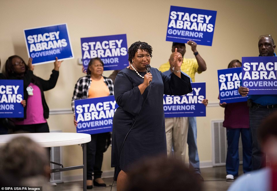Stacey Abrams is looking to become the first female African American governor in US history in Georgia, where she is taking on Brian Kemp