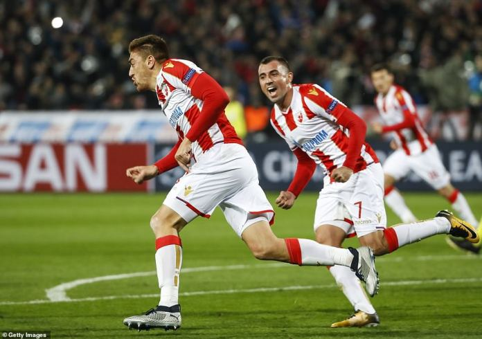 Pavkov got the chance to start from Red Star manager Vladan Milojevic and took advantage of the game in the first half