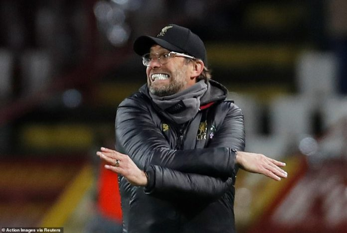 Klopp was apoplectic on the verge, as his team on Tuesday night could find no way back into the Champions League