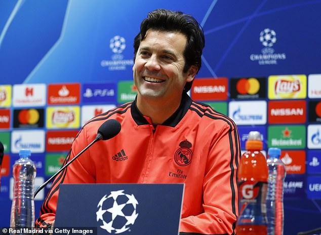 Solari has won his first two matches as he takes Madrid to Plzen in the Champions League