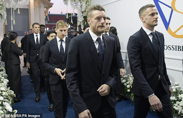 Jamie Vardy will auction his box in Leicester City on Saturday