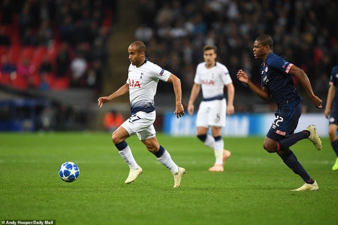 Lucas Moura looked like a threat with his speed and his dribbling ability, which caused many problems for the PSV defense