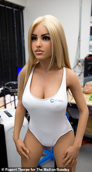 Sex dolls have evolved from blow-up dolls to anatomically correct, life-sized figures, and the technology - and their popularity - continues to advance