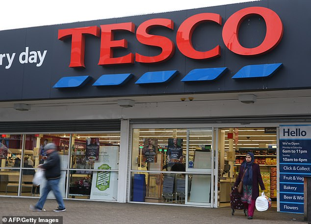 A senior staff member at a Tesco store (pictured stock image) could not find any information for an unpackaged panini containing milk when a journalist poses as someone with a milk allergy