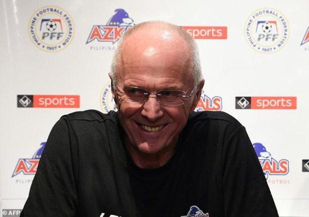Sven-Goran Eriksson is a former director of England.