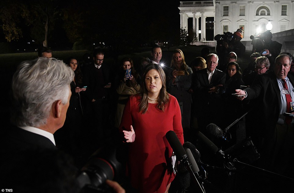 Sarah Huckabee Sanders, the White House press secretary, said that Trump has no plans to alter his political agenda despite losing the House to the Democrats