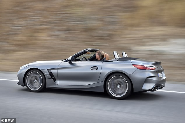 ZZ top down: We drove the brand new BMW Z4 Roadster before landing in the UK