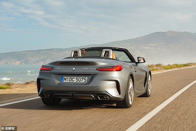 BMW estimates that it will sell 2,400 Z4 roadsters in its first year of sale in the UK