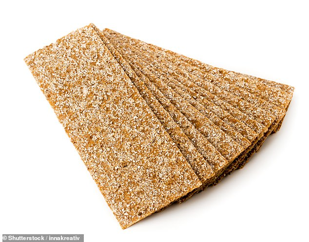 Wheat can be a burden on sensitive digestive systems - but rye crackers contain less gluten and can be filled with foam or other dips