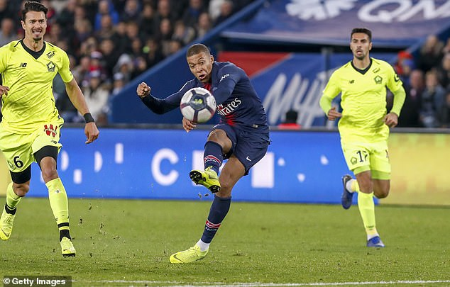 The teenager has been a huge success so far as PSG, scoring 34 goals and winning three trophies