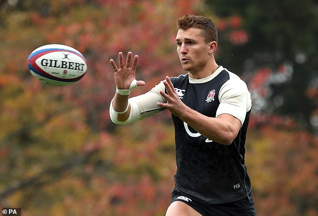 The English center Henry Slade (pictured) wants to continue his partnership with Ben Te & oo