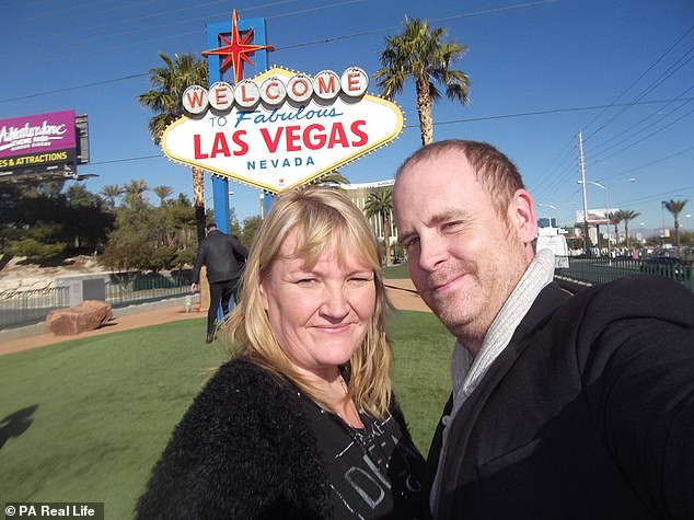 The couple married in Las Vegas last Christmas after Mr. Twemlow proposed the same day he was diagnosed with cancer, saying that facing the possibility of death made him understand what was important in life