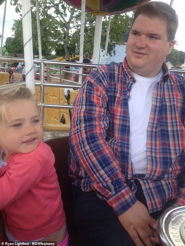 "Ryan had brought his day-to-day niece Ruby to Peppa Pig World at Paulton's Park, but he remained ""offended"" when he had to leave the car and pass by ""giggling"" riders"