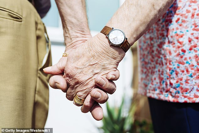 A new study found that the lifespan of those living up to the age of 65 increases every generation three years (file image)