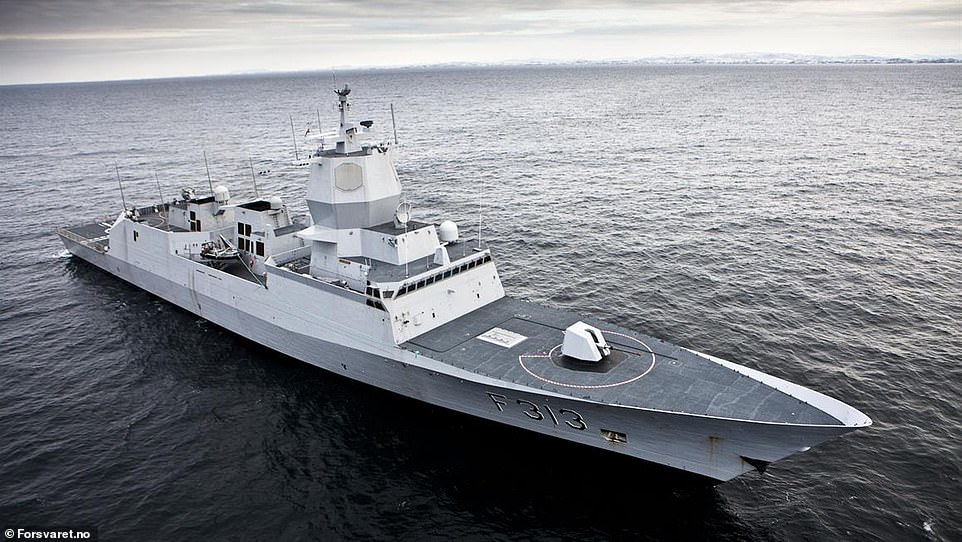 Built in 2009, the KNM Helge Ingstad participated in chemical disarmament operations in Syria between December 2013 and May 2014