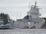 L'un des plus grands navires de guerre de la marine norvégienne a été averti à plusieurs reprises qu'il se trouvait sur un parcours de collision avec un pétrolier à destination de la Grande-Bretagne avant de s'engager dans le navire, a-t-on affirmé