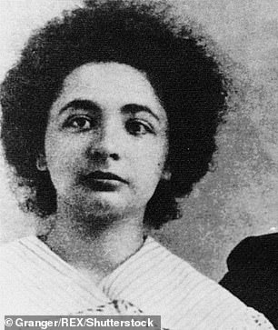 The letter was written to Einstein's younger sister Maja (pictured)