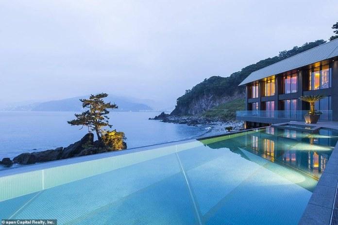 Rubin was also loaned $14 million in 2012 by Google to purchase a luxurious seaside villa in Japan (shown)