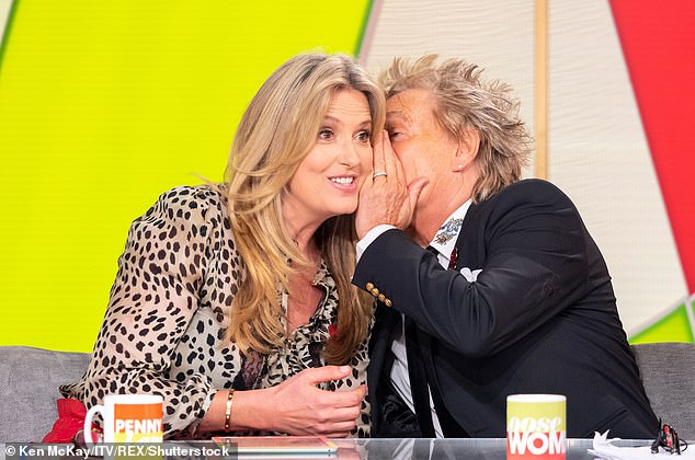 'This one is irresistible': Rod and Penny's chemistry has hard to avoid during the interview, and the musician was clearly smitten