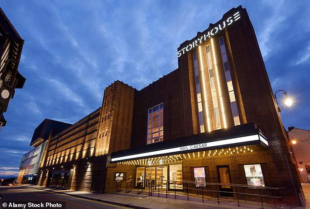 In the spotlight: Chester has a storyhouse theater, a cinema and a library