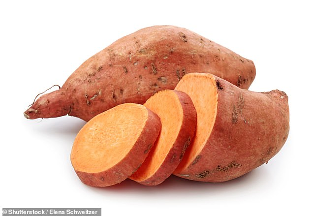 Instead of drinking sugary orange juices to raise the vitamin C level, drink a yam. Sweet potatoes contain vitamins B6 and C, which both stabilize the mood