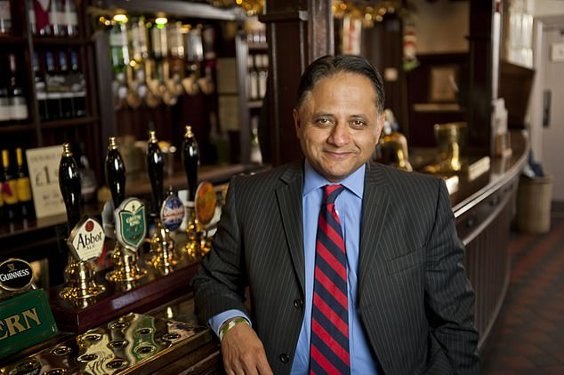 Growth: When Rooney Anand took over in 2004, Greene King had 1,998 pubs. Today it has more than 2,800, while turnover has quadrupled to £ 2.2 billion