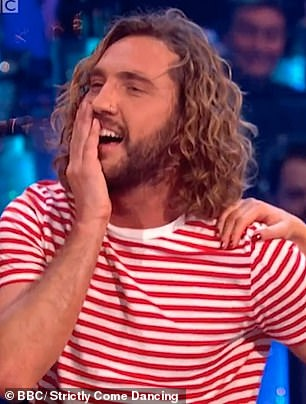 Eek!: Only recently, Emily Atack,  was dragged into the scandalous Seann Walsh headlines when historic pictures of her and the funnyman emerged amid claims they had a secret fling