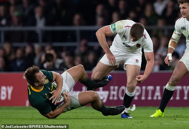 When Owen Farrell made that last-ditch affair at Twickenham, my heart was a little bit in my mouth