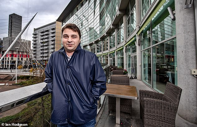 The city legend Georgi Kinkladze returned to Manchester this week before the derby on Sunday