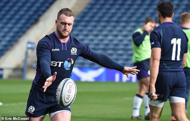 Stuart Hogg has made a remarkable recovery from injury to take his place at full-back
