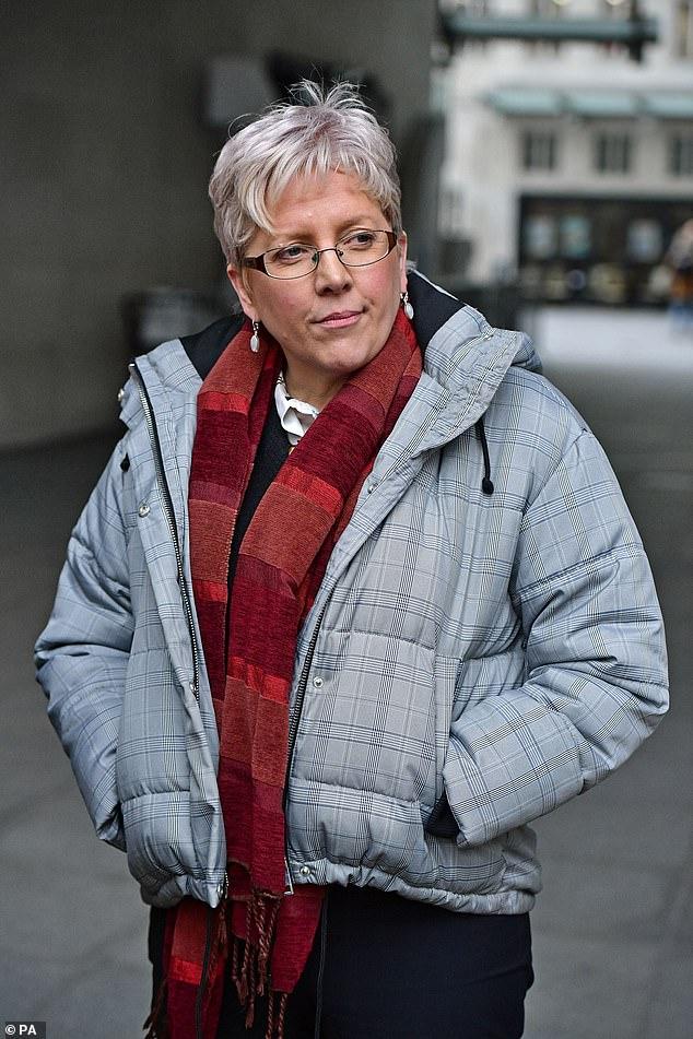 Carrie Gracie, die zu einer Schlüsselfigur in der BBC wurde, als treibende Kraft für die Einleitung von Veränderungen im Unternehmen in Bezug auf Gender und gleiche Bezahlung