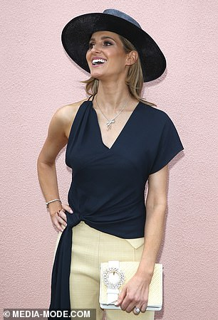 Racing royalty! Kate is the daughter of horse trainer Gai Waterhouse