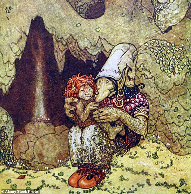Adorable: John Bauer has captured a fantasy world of nature in his pictures for children's storybooks with giants, princesses, and trolls
