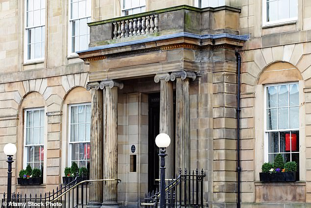 Location, Location, Location: The Blythswood Square Hotel is located near the famous George Square