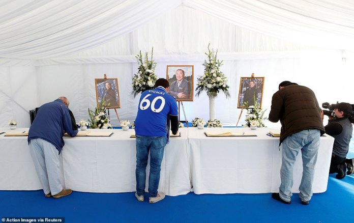 A condolence book was opened immediately after the tragic incident and remains available to fans for signature