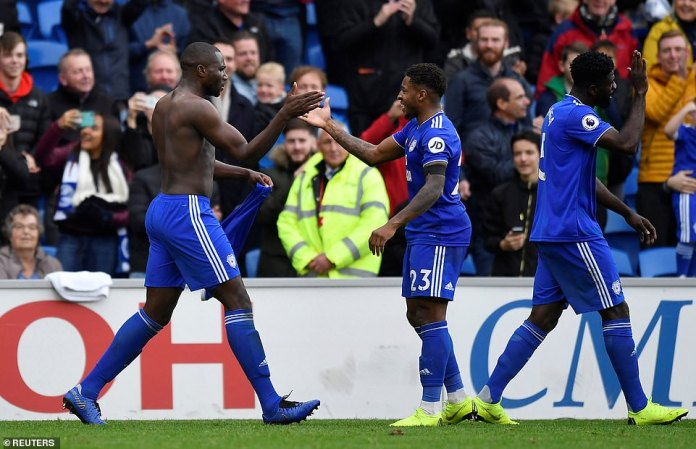 Sol Bamba unleashed wild partying by signing a Saturday night with Cardiff's last goal against Brighton