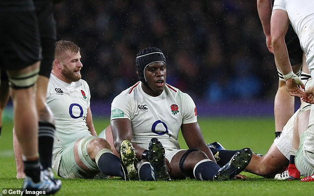 George Kruis and Maro Itoje were disheartened after the game, but England is back on track