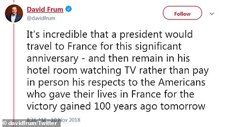 David Frum also hammered the President on Saturday