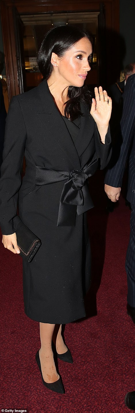 Meghan, Duchess of Sussex attends the Royal British Legion Festival of Remembrance