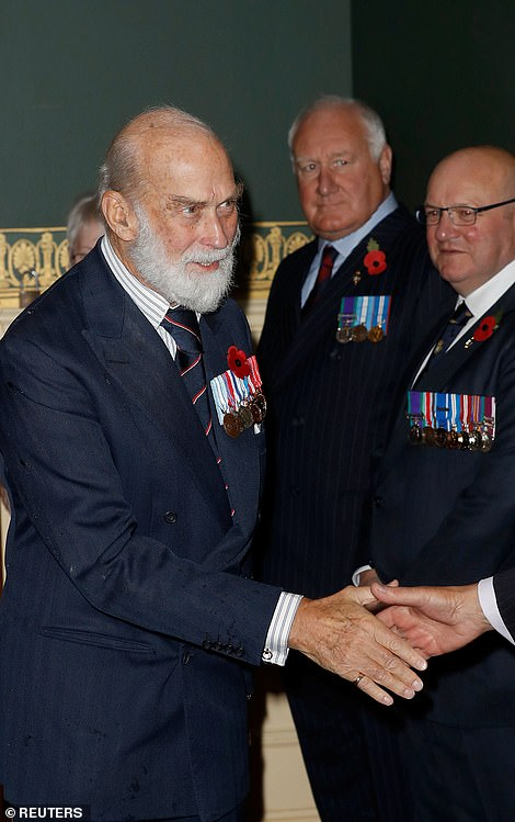 Britain's Prince Michael of Kent attends the Royal British Legion Festival of Remembrance